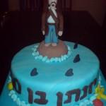 עוגת ג'ק ספירו , עוגות לבנים , עוגות מעוצבות לבנים , עוגות מסרטים
