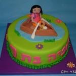 עוגת דורה בסירה