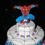 עוגות לקטנטנים , עוגות לבנים , עוגת ספיידרמן