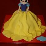 עוגת נסיכות - שלגיה