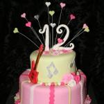עוגה לבנות , עוגה לבת מצווה,עוגה לאירועים