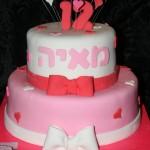 עוגה לבנות, עוגה לבת מצווה