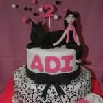 עוגה לבנות , עוגה לבת מצווה ,עוגה לאירועים
