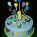 עוגה לקטנטנים , עוגת יום הולדת , עוגה לבנים