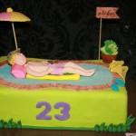 עוגת בריכה