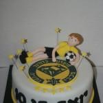 עוגת כדורגל מכבי נתניה