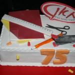 עוגה לחברת חאן- ציוד משרדי