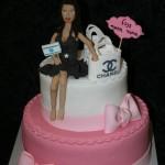 עוגה לחובבת קניות מחול