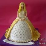 עוגת ברבי זהב