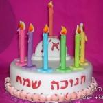 עוגות לחג , עוגות לחג מעוצבות , עוגות לחג חנוכה מעוצבות