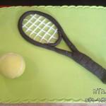 עוגת טניס , עוגות מעוצבות טניס , עוגות מעוצבות לספורטאים , עוגות מעוצבות , לבנים , עוגות מעוצבות לבנות