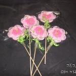 סוכריות מעוצבות פרחים , סוכריות , זר סוכריות פרחים