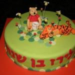 עוגת פו הדוב וטיגר