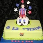 עוגות לבנים , עוגות כדורגל