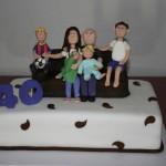 עוגות למבוגרים , עוגות לאירועים , עוגה ליום המשפחה