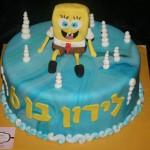 עוגת בוב ספוג , עוגות מעוצבות לקטנטנים , עוגות מעוצבות לאירועים , עוגות מעוצבות מבצק סוכר , עוגות מבצק סוכר , עוגות מעוצבות בהתאמה אישית , עוגות ליום הולדת , עוגות מעוצבות ליום הולדת , עוגות לבנים , עוגות לבנות.