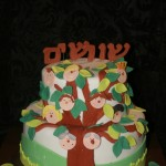 עוגת עץ שורשים