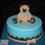 עוגת דובי לגבר בן 30